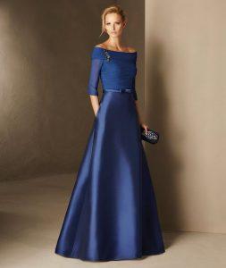 rochie albastra deosebita