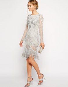 rochie retro alba