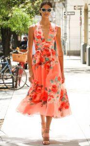 rochie colorata