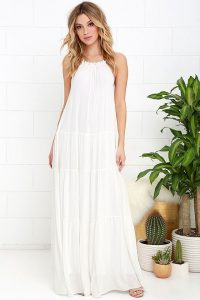 rochita eleganta alba