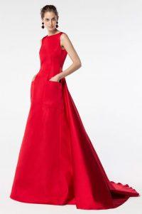 rochie gala cu buzunare