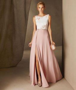 rochie eleganta cu crapatura