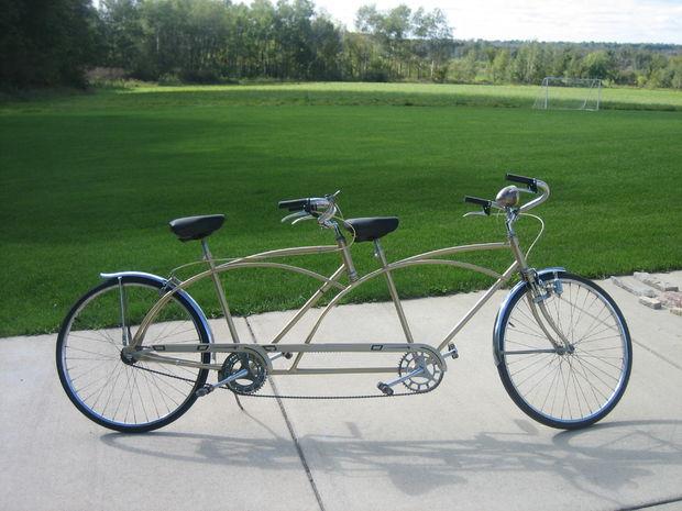 bicicletă tandem