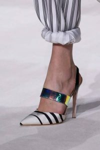 pantofi colorati cu toc stiletto
