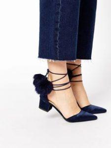 pantofi cu tocuri joase