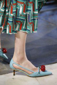 pantof colorat