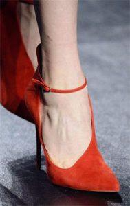 pantofi stiletto cu curelusa