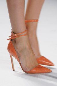 pantofi portocalii