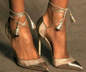 pantofi crem stiletto