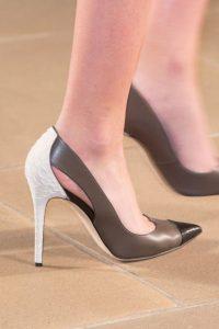 pantofi maro stiletto