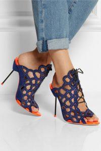 pantofi decupati stiletto