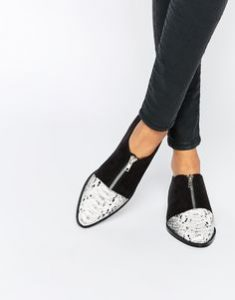 pantofi cu fermoar
