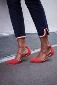 pantofi corai fara toc