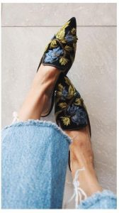 pantofi colorati
