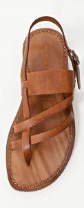 sandale pile maro