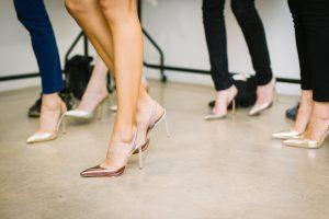 pantofi crem cu toc stiletto