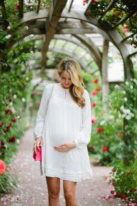 rochita alba pentru gravida