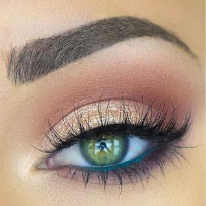 fard pentru ochi verzi