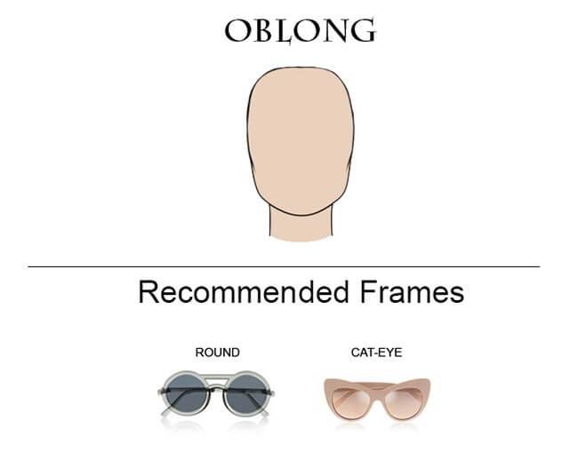 Glass Frames for Oblong Faces