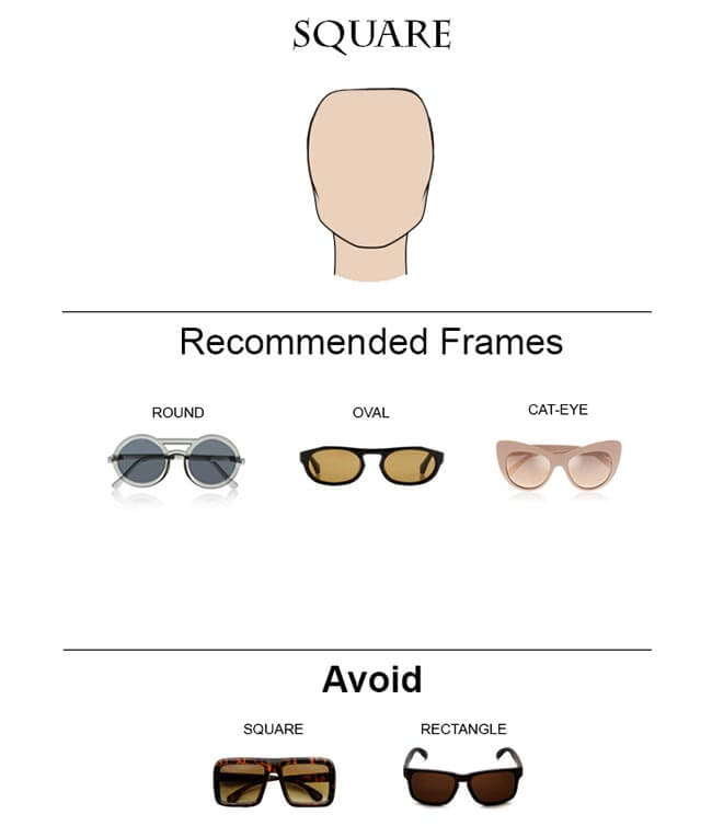 Glass Frames for Square Faces